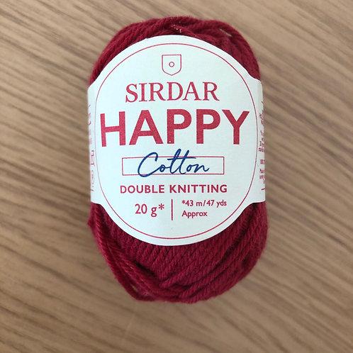 Sirdar Happy Cotton, Chilli (791)