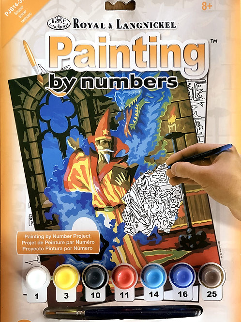 Painting by Numbers - Sorcerer
