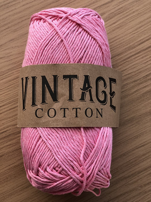 Vintage Cotton, Dark Baby Pink