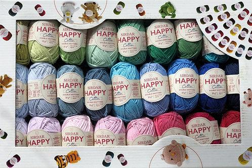 Sirdar Happy Cotton Gift Box