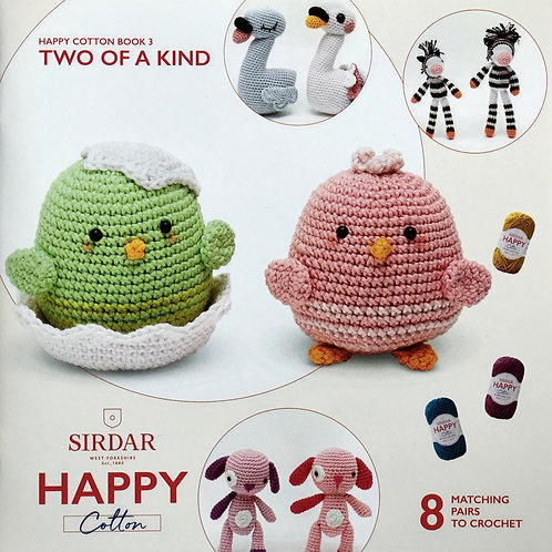 Sirdar Happy Cotton Book 3