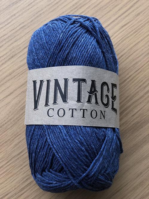 Vintage Cotton, Denim Blue