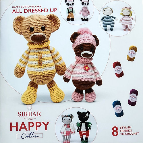 Sirdar Happy Cotton Book 6