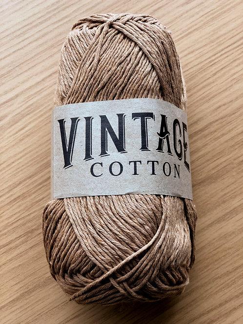 Vintage Cotton, Brown