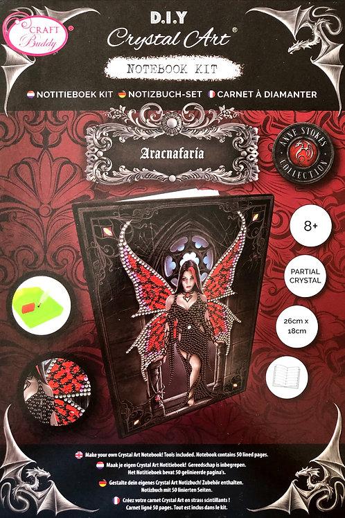 Aracnafaria by Anne Stokes Crystal Art Notebook