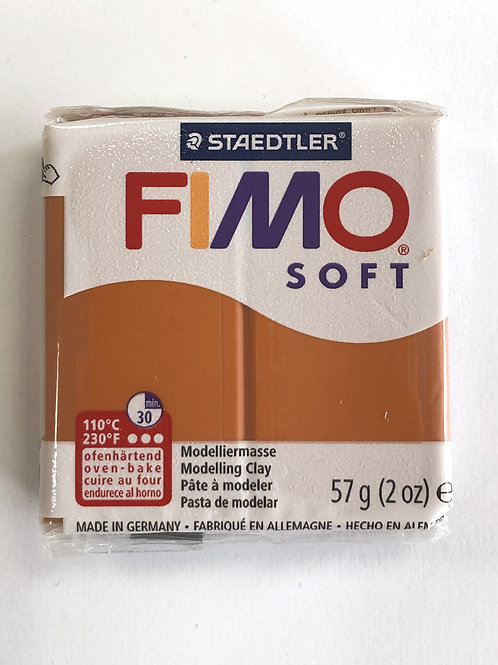 Fimo Soft Modelling Clay - 8020-76 Cognac, 57g