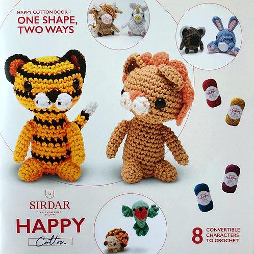 Sirdar Happy Cotton Book 1