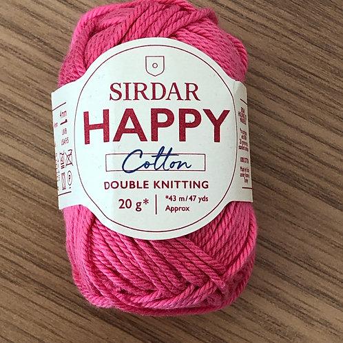 Sirdar Happy Cotton, Bubblegum (799)
