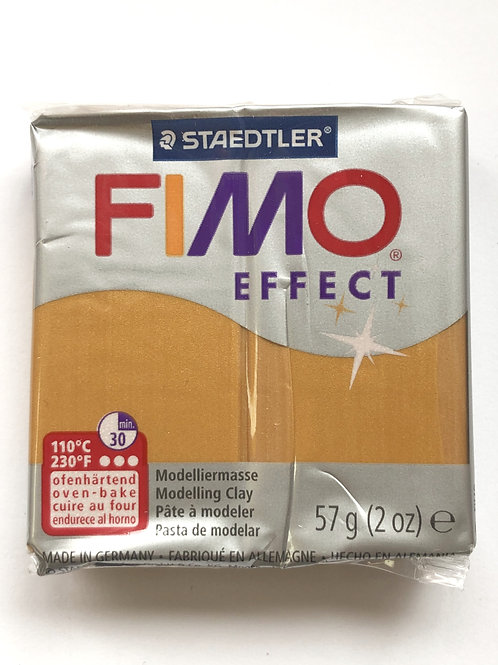 Fimo Effect Modelling Clay - 8020-11 Metallic Gold, 57g