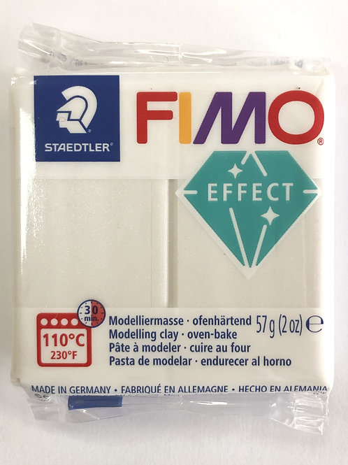 Fimo Effect Modelling Clay - 8020-08 Metallic Mother of Pearl, 57g