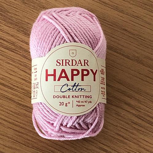 Sirdar Happy Cotton, Flamingo (760)