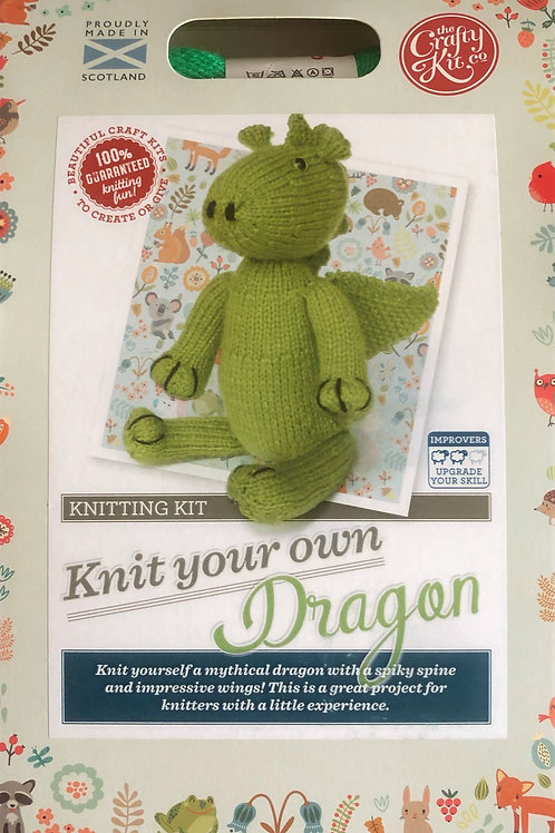 The Crafty Kit Company - Knit Your Own Dragon