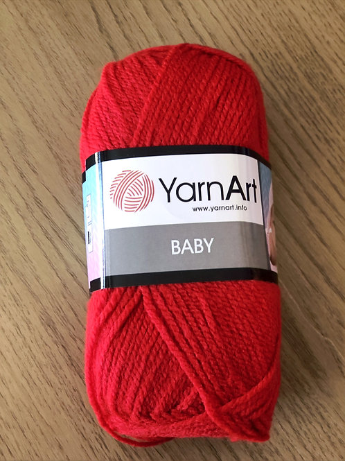 Yarn Art Baby, Red