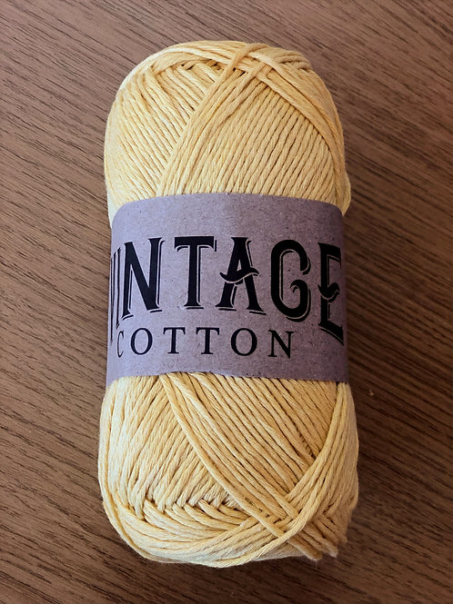 Vintage Cotton, Golden Yellow