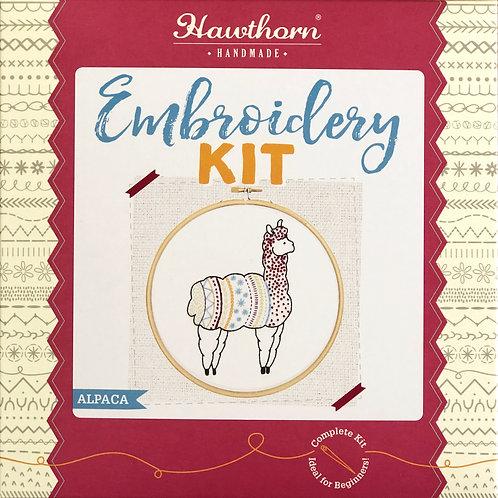 Hawthorn Handmade - Alpaca Embroidery Kit