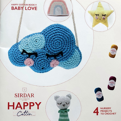 Sirdar Happy Cotton Book 9 - Baby Love