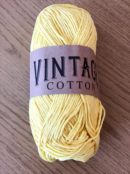 Vintage Cotton, Yellow