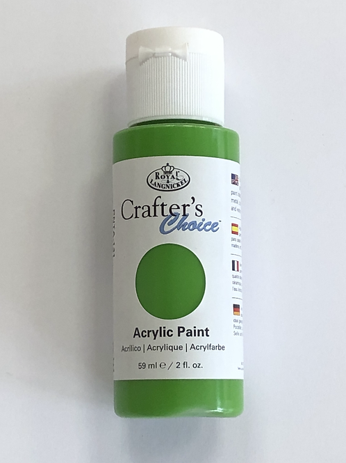 Crafter's Choice Acrylic Paint, Yellow Green - PNTA-131