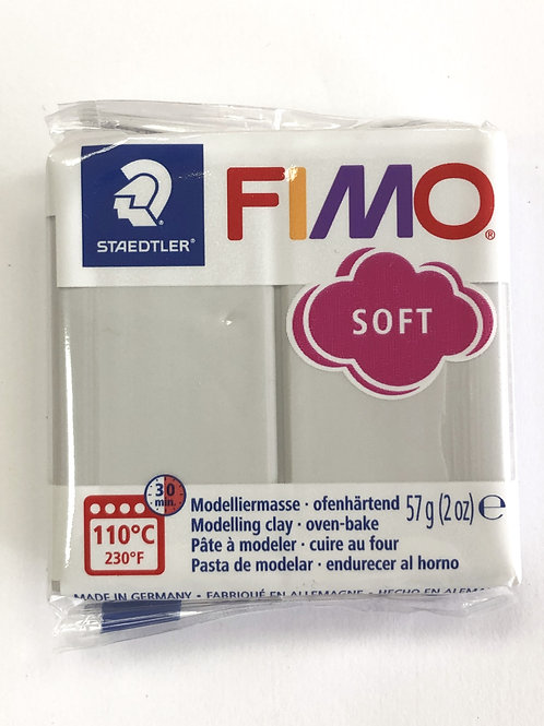 Fimo Soft Modelling Clay - 8020-80 Dolphin Grey, 57g