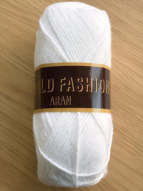Good Old Fashioned Aran, White