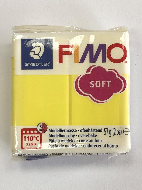 Fimo Soft Modelling Clay - 8020-10 Lemon, 57g