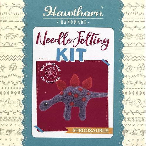 Hawthorn Handmade - Stegosaurus Needle Felting Kit