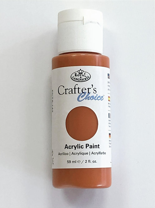Crafter's Choice Acrylic Paint, Mars Orange - PNTA-142