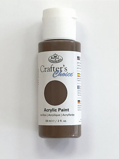 Crafter's Choice Acrylic Paint, Burnt Umber - PNTA-144