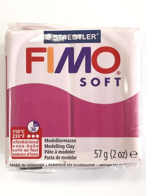 Fimo Soft Modelling Clay - 8020-22 Raspberry, 57g