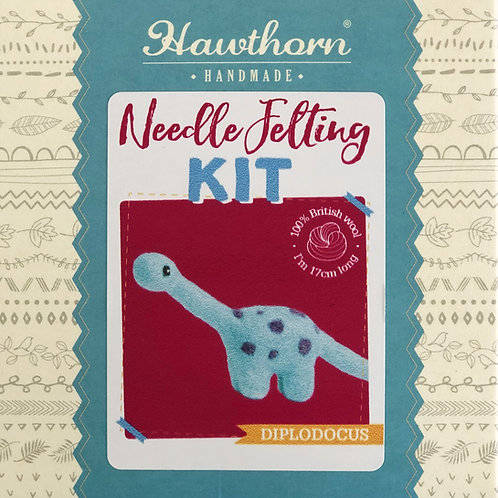 Hawthorn Handmade - Diplodocus Needle Felting Kit