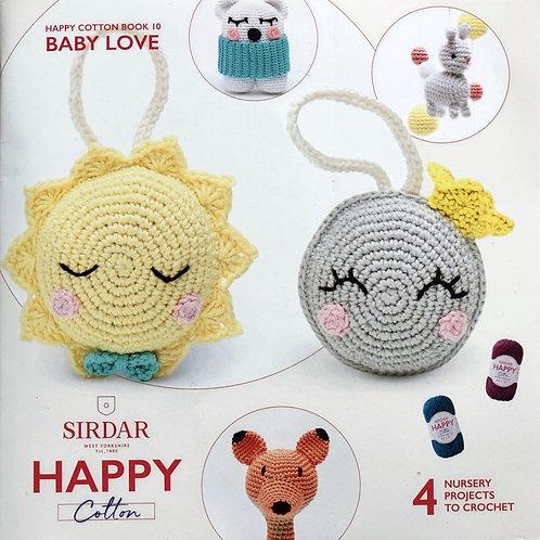 Sirdar Happy Cotton Book 10 - Baby Love