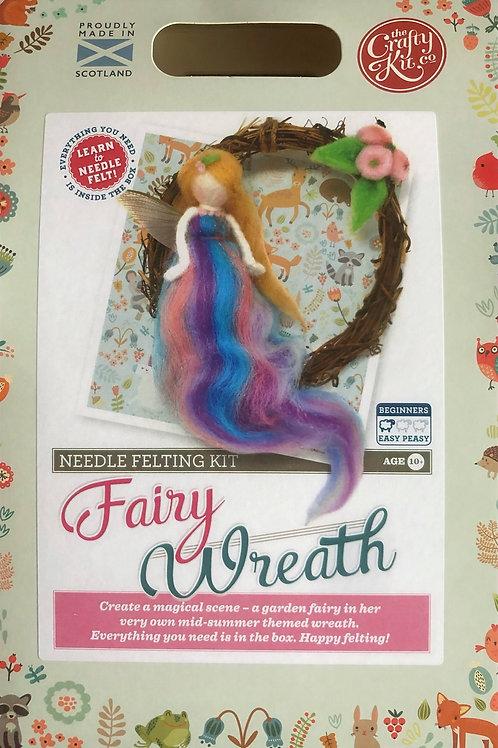 The Crafty Kit Company - Fairy Wreath Needle Felting Kit