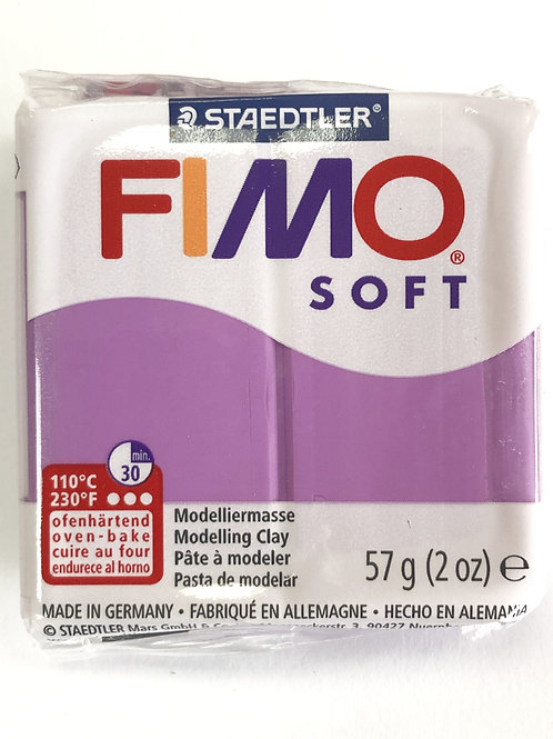 Fimo Soft Modelling Clay - 8020-62 Lavender, 57g