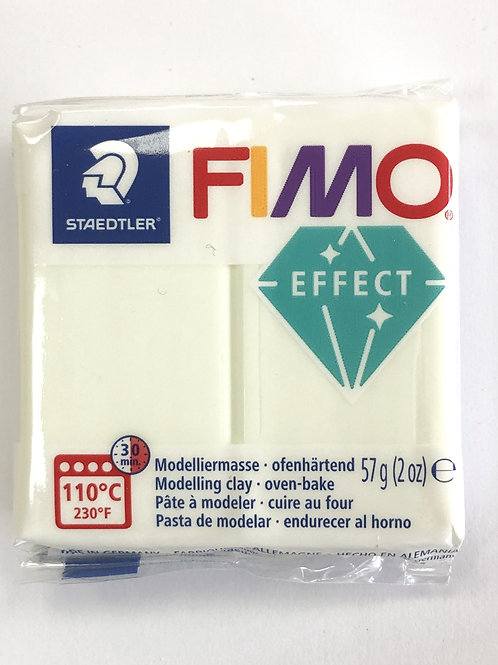 Fimo Effect Modelling Clay - 8020-04 Glow in the Dark, 57g
