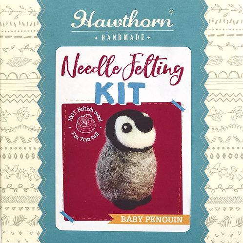 Hawthorn Handmade - Penguin Needle Felting Kit