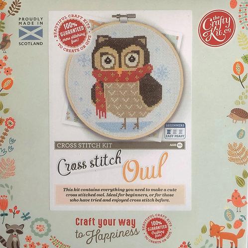 The Crafty Kit Company - Owl Cross Stitch Kit