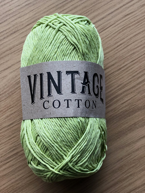 Vintage Cotton, Lime Green