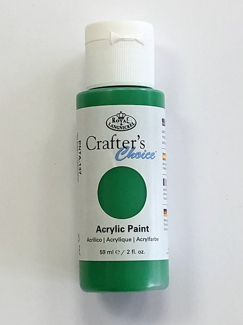 Crafter's Choice Acrylic Paint, Mid Green