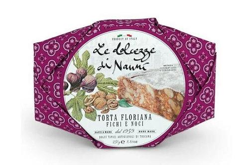 Torta Floriana Figs and Walnuts Le Dolcezze di Nanni - 250g