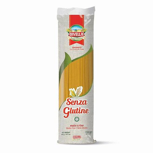 Divella Spaghetti Senza Glutine (Corn and Rice Flour Gluten Free Spaghetti) - 40
