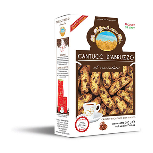 Cantucci d'Abruzzo al Cioccolato (200g)