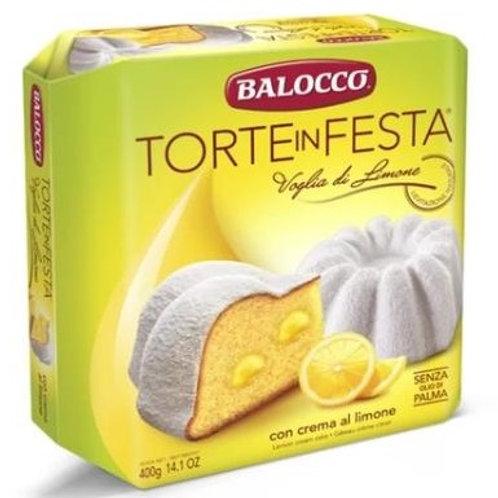 Balocco Torta con Crema di Limone - 400g
