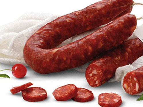 Salsiccia Secca Piccante or Dolce (Cured Dry Sausage Spicy or Mild) approx 300g