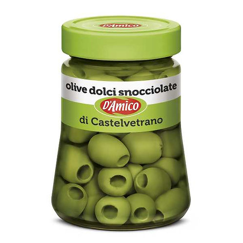 D'Amico Castelvetrano Pitted Sweet Olives - 290g