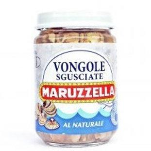 Maruzzella: Vongole Sgusciate Al Naturale (Clams) - 130g