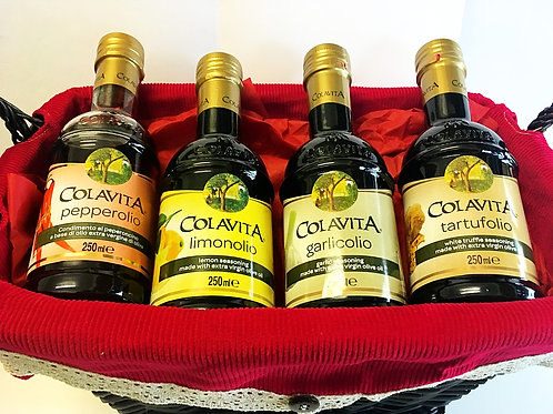 Fabulous Four Gourmet Infused Oil Collection