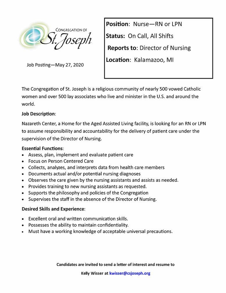 Nurse Job posting Nazareth.jpg