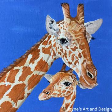 Hey Mum - Giraffe Love