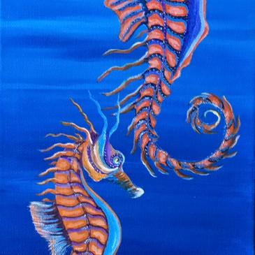 Our Ocean - Seahorse Family