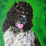 Chilli - a pet portrait commission